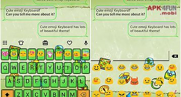 Emoji keyboard for Android free download from Apk 4Free