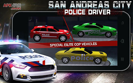san andreas city police driver