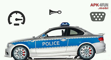 Toddler kids car toy police