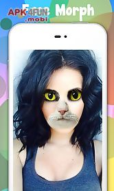 snap sticker and doggy face changer