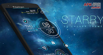 Starry go locker theme