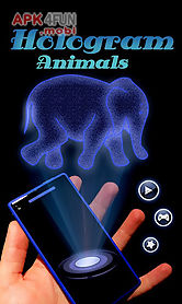 hologram animals prank