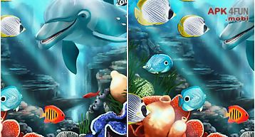 Go launcher theme water fish