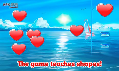 learning shapes - kids game