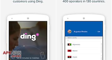 Ding topup: mobile recharge
