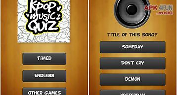 Kpop music quiz (k-pop game)