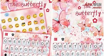 The butterfly kika keyboard