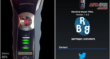 Electrical shaver free