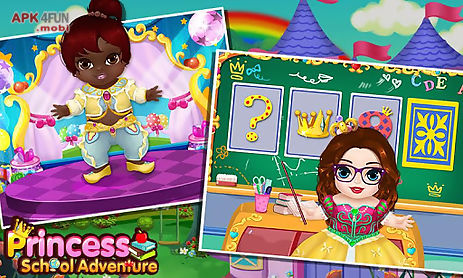 Princess school adventure for Android free download from Apk