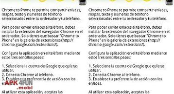 Google chrome to phone for andro..