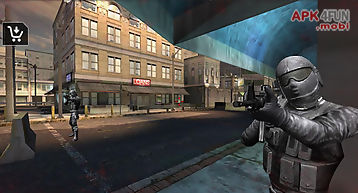 Urban commando shooting 3d