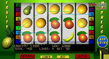 Fruity madness slots lite