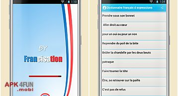 French phrases dictionnary