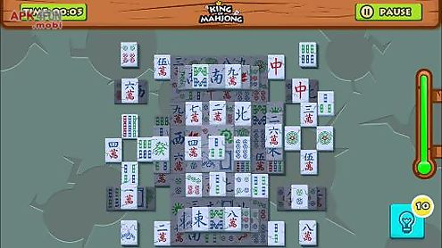 king of mahjong solitaire: king of tiles