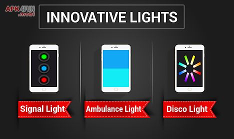 led torch bulb: flashlight app