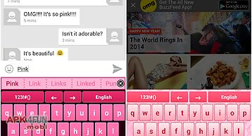 My pink keyboard