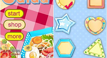 Salad maker-cooking game