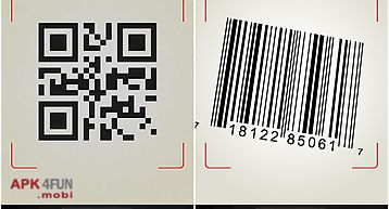 Qr barcode scanner +flashlight