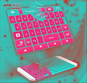 keyboard for android pink