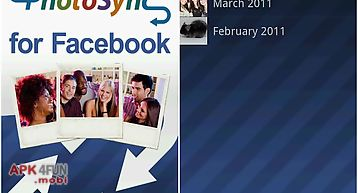Tagged photo sync for facebook
