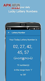 today lucky numbers