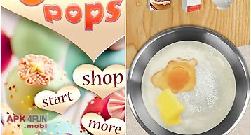 Cake pop maker-cooking game