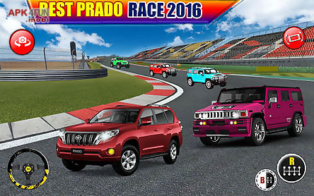 crazy prado race 4x4 rivals