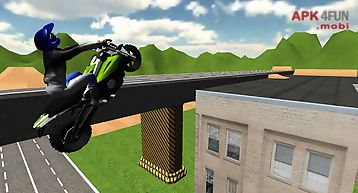 Extreme motorbike driving 3d