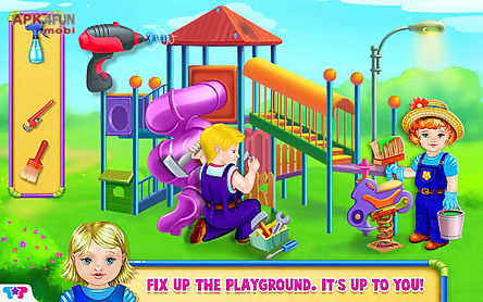 baby playground - build & play