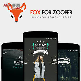 Fox for zooper for Android free download from Apk 4Free market