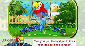 Pet parrot - 2d pet simulator