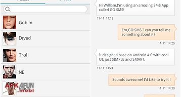Go sms pro free message plugin