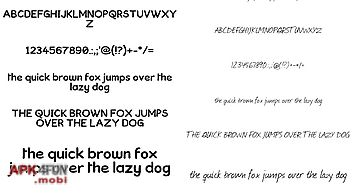 Neat fonts for flipfont free