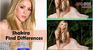 Shakira find differences