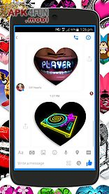 gif hearts for messenger ♥
