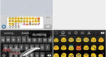 Emoji keyboard - spanish dict