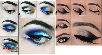 Eye makeup steps