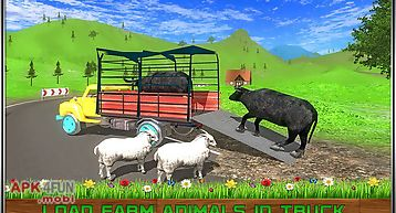 Offroad transport farm animals