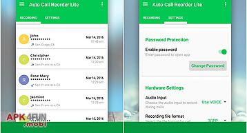 Auto call recorder lite