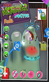 monster nail doctor - game