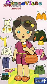queca dress up paper dolls