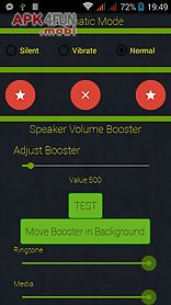 Speaker volume booster for Android free download from Apk