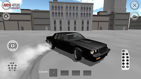 speed muscle car driver