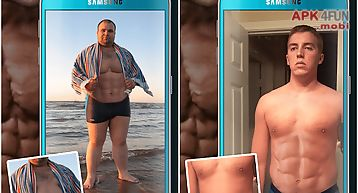Six pack photo montage