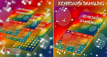 Keyboard for samsung galaxy