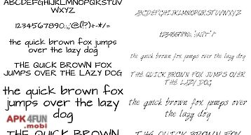 Fonts hand for flipfont® free