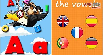 Learn the vowels for toddlers