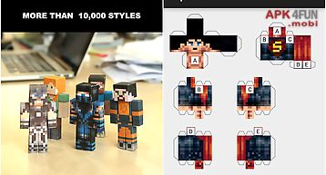 Papercraft for minecraft