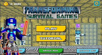 Transforming survival games