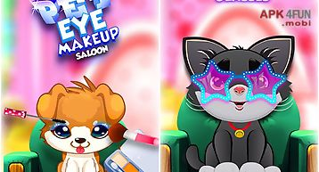 Pet eye makeup salon – kids